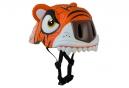 Casque Enfant Crazy Safety Orange Tiger / Tigre 3 à 6 ans Orange