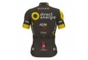 Maillot Manches Courtes ALE Team Direct Energie 2017 Noir Jaune