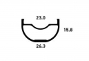 Jante No Tubes ZTR Crest MK3 27.5´´ 32 Trous