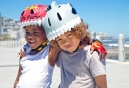 Casco Crazy Safety White Shark Gris