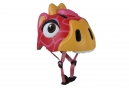 Casque Enfant Crazy Safety Red Giraffe / Girafe 3 à 6 ans Rouge