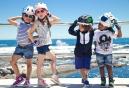 Casque Enfant Crazy Safety Pink Shark / Requin 3 à 6 ans Rose