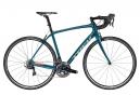 Vélo de Route Trek Domane SL 8 Shimano Dura Ace 11V 2017 Bleu / Orange