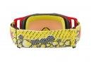 Masque Oakley Front Line MX Dazzle Dyno Jaune Rouge - Prizm MX Rouge OO7087-15