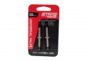 NOTUBES Paire de Valves Tubeless 55mm