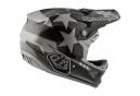 Casque Intégral Troy Lee Designs D3 Carbon Freedom Mips Argent Noir 2017