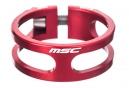 MSC Collier de Selle Ecrou Light 8.5 gr CNC + TI Red