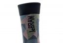 Paire de Chaussettes LeBram La Vanoise Noir/Camo