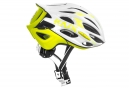 Casque KASK MOJITO Blanc Jaune Fluo