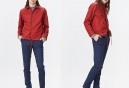 Veste Coupe-Vent Imperméable Rains Coach Jacket Rouge