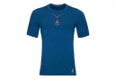T-Shirt ODLO Smart Ceramicool Seamless Bleu Orange