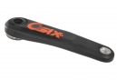 Manivelles RACE FACE Sixc Carbon (sans boitier) Noir/Orange