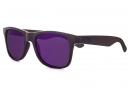 Lunettes Fiend JJ Palmere V2 Noir Verres Violet