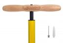 Lezyne Steel Floor Drive Floor Pump ABS-1 Pro Yellow