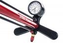 Lezyne Steel Floor Drive Floor Pump ABS-1 Pro Red
