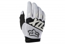Gants Longs Fox Dirtpaw Race Blanc