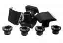 ROTOR Schrauben Kit für Shimano Dura-Ace FC-9000 Kurbelgarnitur Schwarz