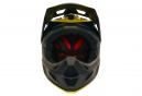 Casque Fox Rampage Pro Carbon Moth Noir Jaune