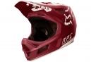 Casco Integral Fox Rampage Pro Carbon Moth Blanc / Rouge