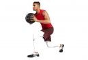 Short Nike Flex Training Rouge