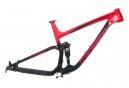 Cuadro de doble suspensión Transition Scout Alu 27.5'' | Rockshox Monarch RT3 Debonair | Rojo Negro