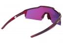 Lunettes 100% Speedcraft SL Cherry Palace Rouge - Ecran Miroir Rouge