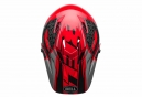 Bell Sanction Full Face Helmet Red Grey