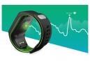 Montre GPS TOMTOM RUNNER 3 CARDIO Bracelet Large Noir Vert