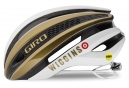 Casque Giro Synthe Team Wiggins MIPS Blanc Or Noir