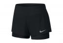 Short 2-en-1 Femme Nike Flex Noir