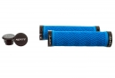 Paire de Grips Neatt Lock On Wave Neon Blue