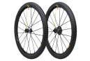 Mavic Crossmax SL 2016 Pair of Wheel Black Pro 27.5 '' Lefty Supermax/12x135mm (Offset Cannondale) Tire Pulse 2.10