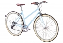 Vélo de Ville 6Ku Odessa Shimano Altus 8V Bleu 2018
