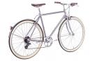 Vélo de Ville 6Ku Odyssey Shimano Altus 8V Gris 2018