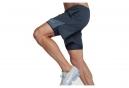 Short 2-en-1 Homme Nike Distance Bleu Gris