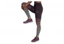 Collant Long Nike Power Epic Lux Flash Bordeau Femme