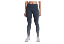 Collant Long Nike Power Epic Lux Flash Bleu Gris Femme