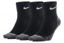 Paires de chaussettes Nike Dry Lightweight (3 paires) Noir