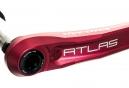 Manivelles Race Face Atlas Cinch Direct-Mount (sans boitier) Rouge