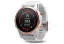 Garmin Fenix 5S Sapphire GPS Watch Rose Goldtone / White