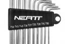 Neatt 9 Torx Llaves T10 T15 T20 T25 T27 T30 T40 T45 T50