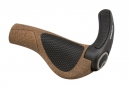 Ergon GP3 BioKork Grips with Bar End For Rohloff / Nexus Shifters- Brown / Black