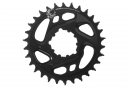 SRAM X-SYNC 2 Cold Forged EAGLE Direct Mount Chainring 6mm Offset 12 Speed Black