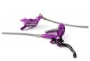 Hope Tech 3 E4 Brake - Front Lever Manguera trenzada Purple