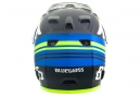 Casco integrale Bluegrass Brave Nero Blu Giallo