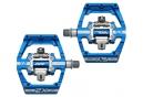 Paire de Pédales Automatiques HT X2 SX Bleu