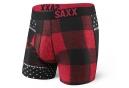 Boxer Saxx Fuse Noir Rouge