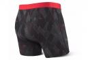 Boxer Saxx Vibe Noir Rouge