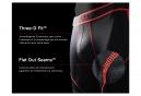 Boxer Saxx Performance Kinetic Noir Rouge