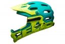 Casque intégral BELL SUPER 3R Bleu Vert